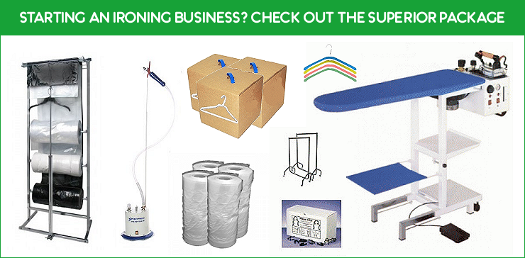 Superior Ironing Business Package