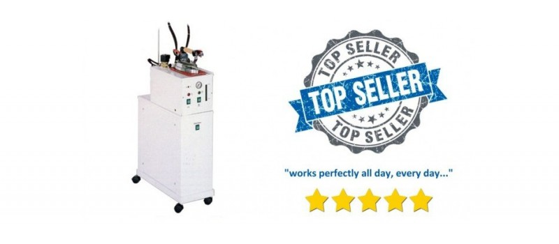 Snail 5-litre Semi-Automatic Ironing Boiler & Iron by Speedypress - www.ironingsupplies.com