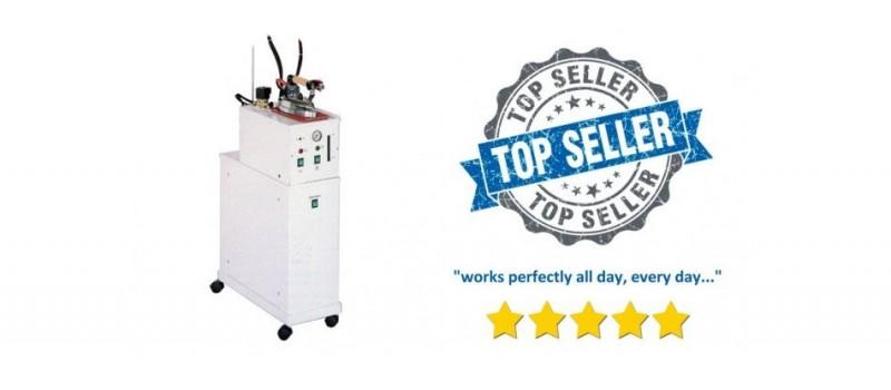 Snail 5-litre Semi-Automatic Ironing Boiler & Iron by Speedypress Ironing Equipment - www.ironingsupplies.com