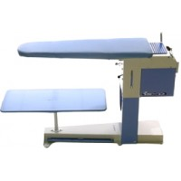 Deluxe Vacuum and Heated Ironing Table