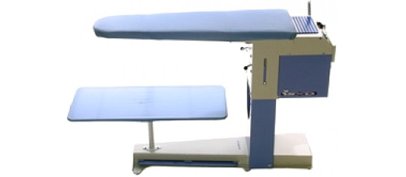 Deluxe Vacuum and Heated Ironing Table by Speedypress - www.ironingsupplies.com