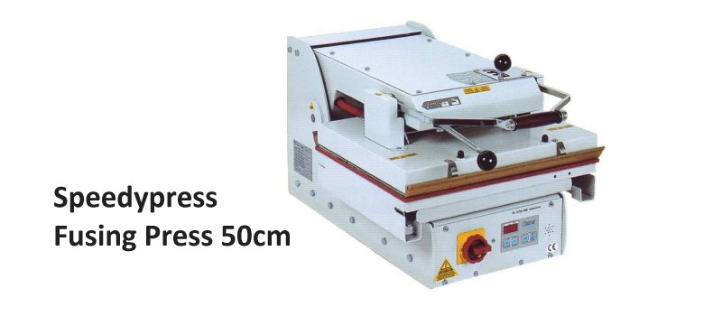 Fusing Press 500mm x 400mm by Speedypress Ironing Equipment - www.ironingsupplies.com