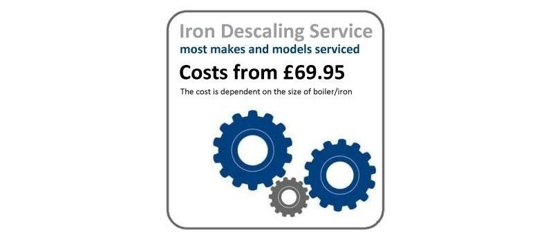 Iron Descaling Service by  - www.ironingsupplies.com