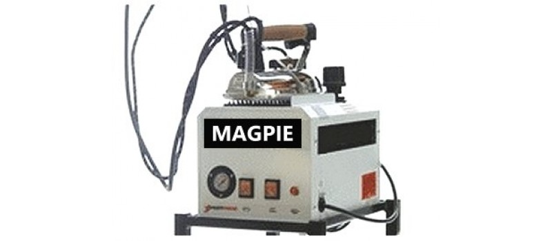 Magpie 5-litre British Ironing Boiler, Iron & Blow Down Bottle by Speedypress - www.ironingsupplies.com