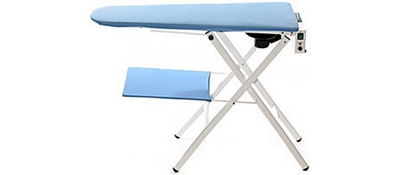 Magpie Vacuum & Heated Ironing table by Speedypress - www.ironingsupplies.com