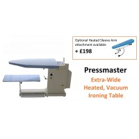 Pressmaster Turbo Vacuum and Heated Extra Wide Ironing Table