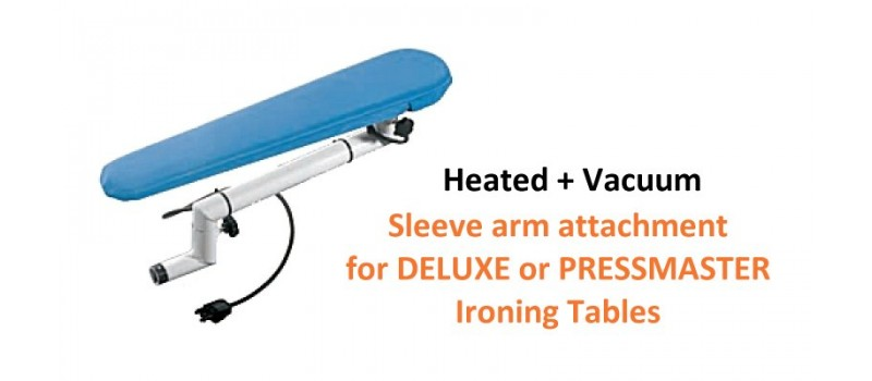 Sleeve Arm Attachment for Ironing Table by Speedypress Ironing Equipment - www.ironingsupplies.com