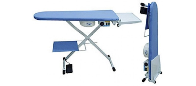 Comel Heated Vacuum Board by Comel Ironing Equipment - www.ironingsupplies.com