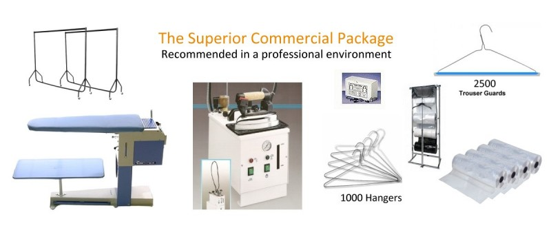 Commercial Package by Ironing Supplies - www.ironingsupplies.com