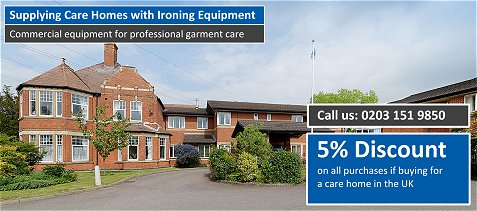 Ironing Equipment for Care Homes...